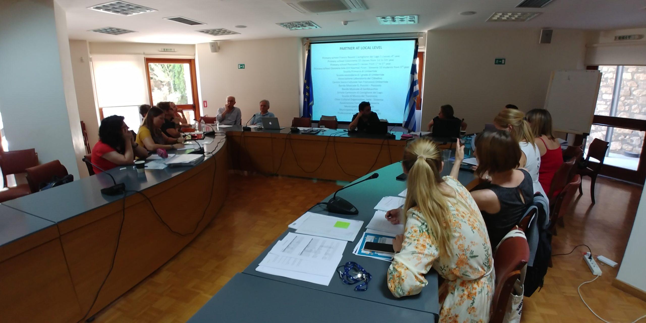 Partners' meeting in Heraklion, Greece