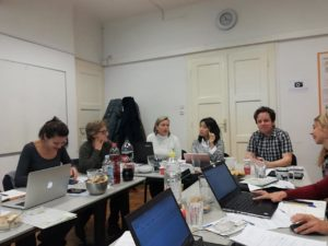 Partners' meeting in Zagreb, Croatia